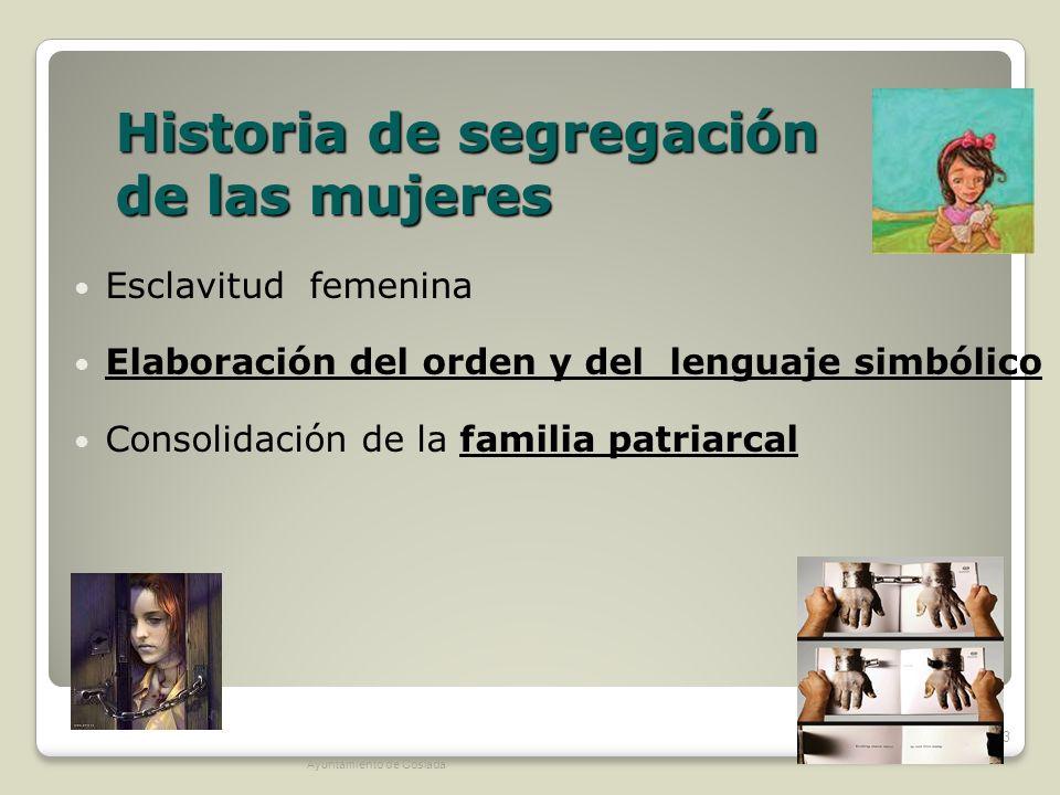 Historia de segregación de las mujeres