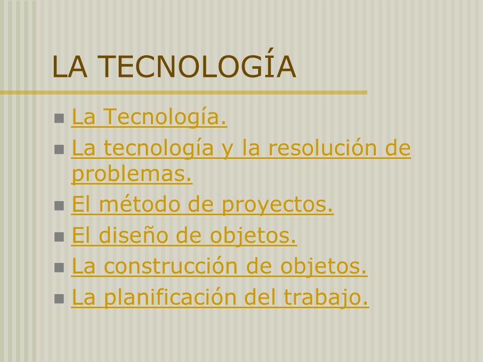 LA TECNOLOGÍA La Tecnología.