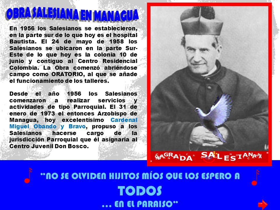 OBRA SALESIANA EN MANAGUA