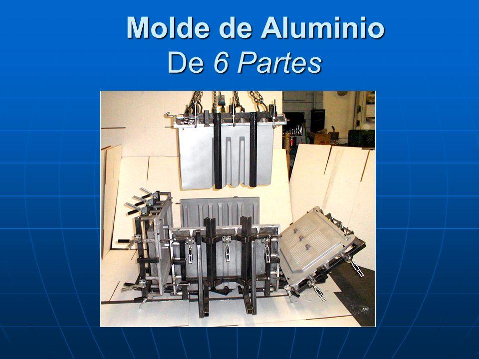 Molde de Aluminio De 6 Partes