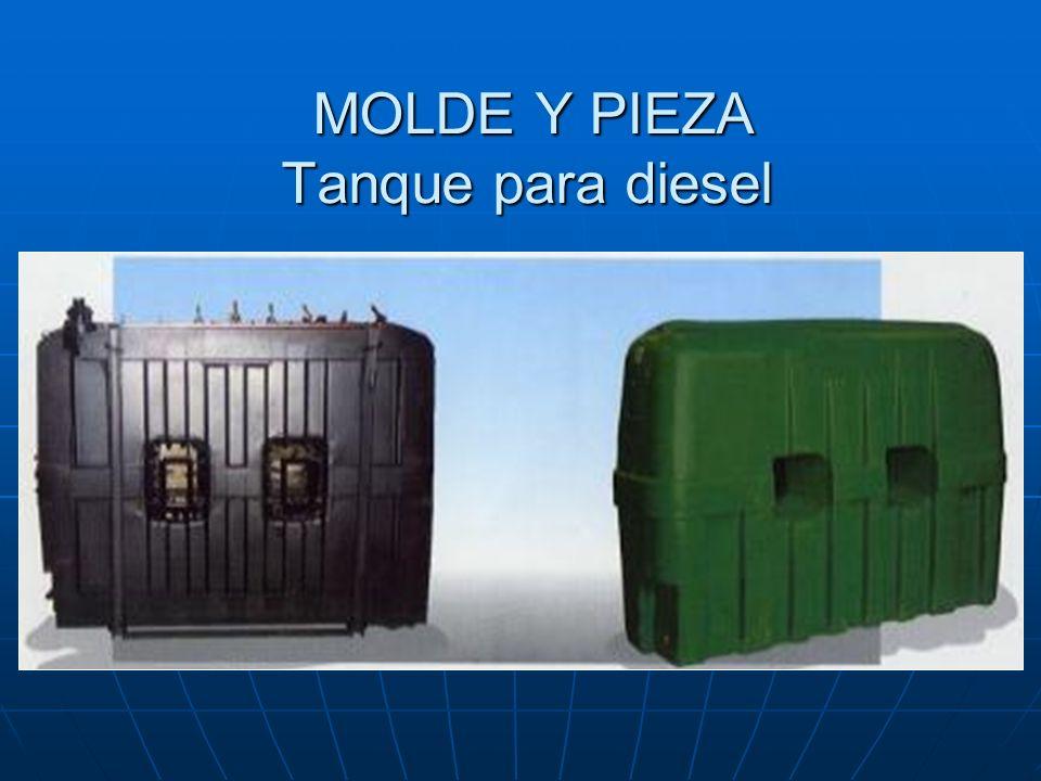 MOLDE Y PIEZA Tanque para diesel