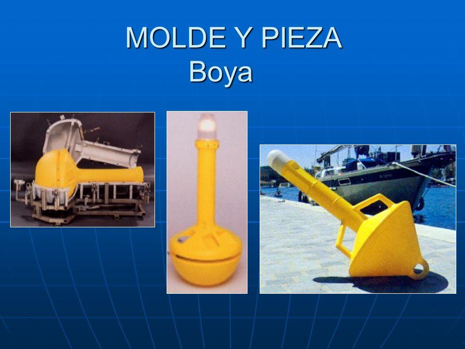 MOLDE Y PIEZA Boya