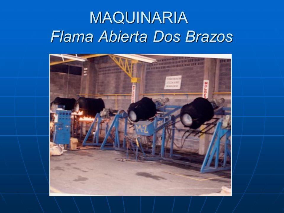 MAQUINARIA Flama Abierta Dos Brazos