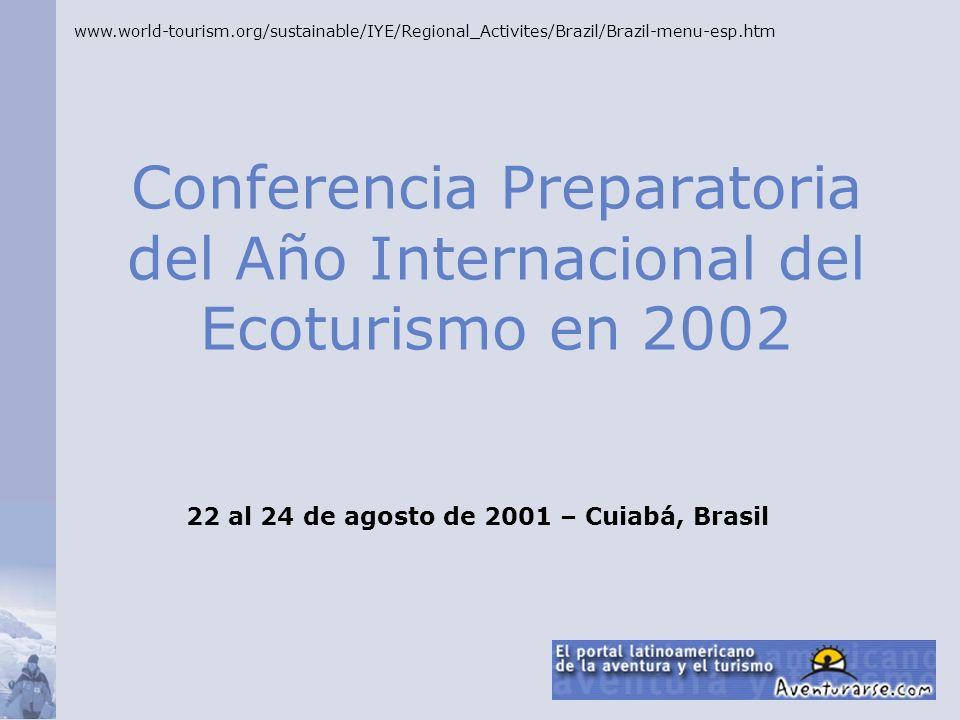 Conferencia Preparatoria del Año Internacional del Ecoturismo en 2002