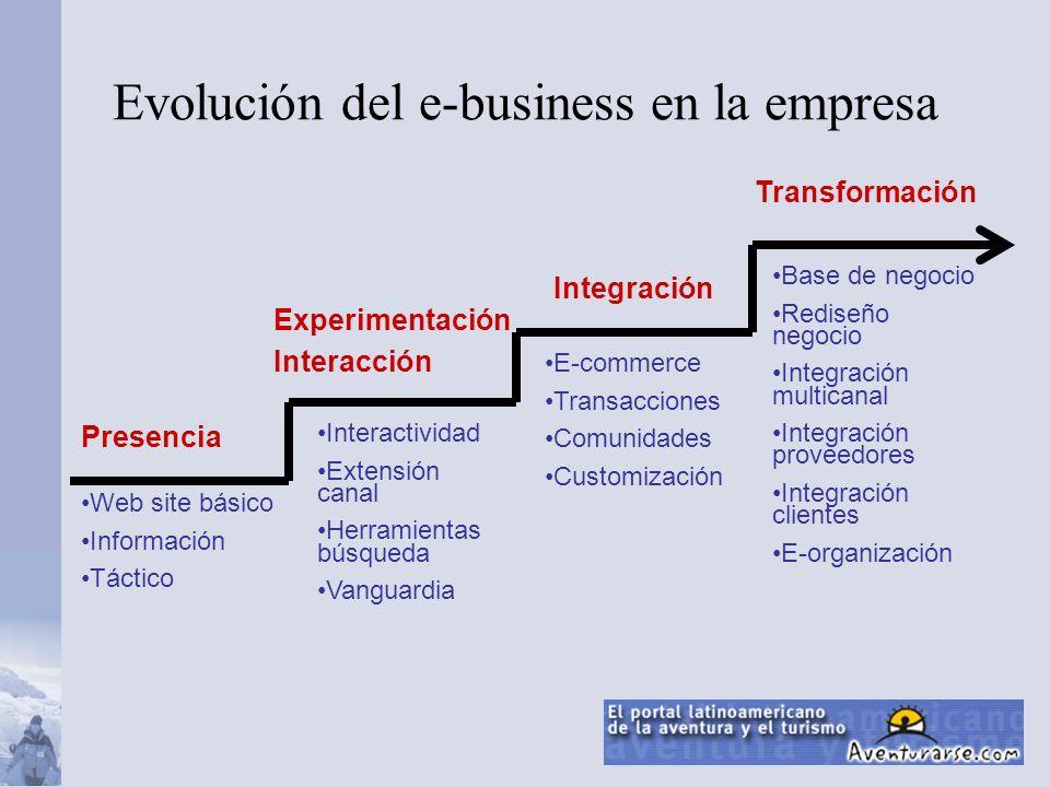 Evolución del e-business en la empresa