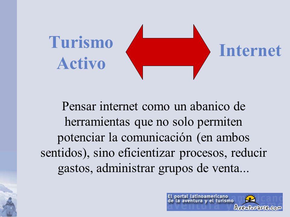 Turismo Activo en Internet