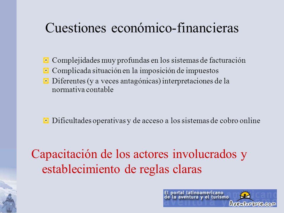 Cuestiones económico-financieras