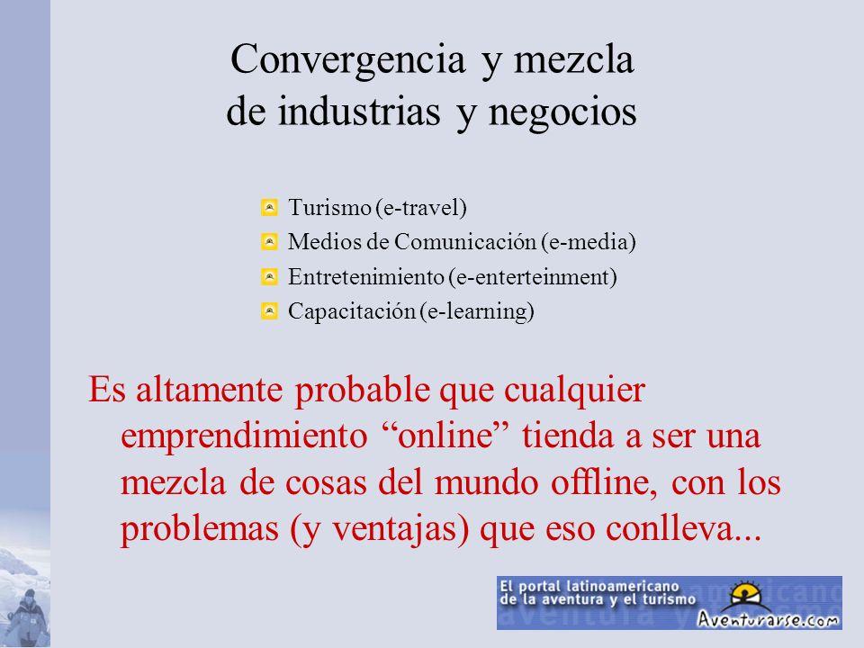 Convergencia y mezcla de industrias y negocios