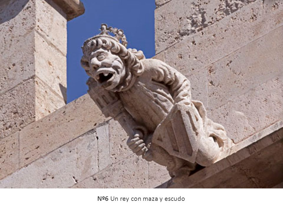 Nº6 Un rey con maza y escudo