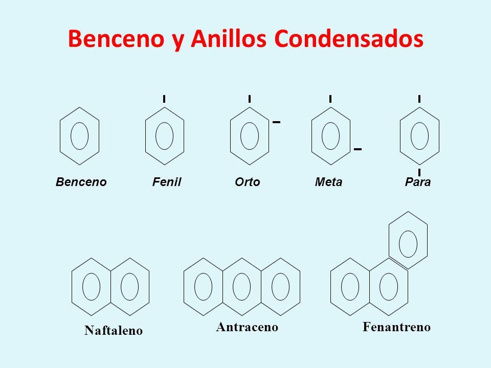 Benceno y Anillos Condensados