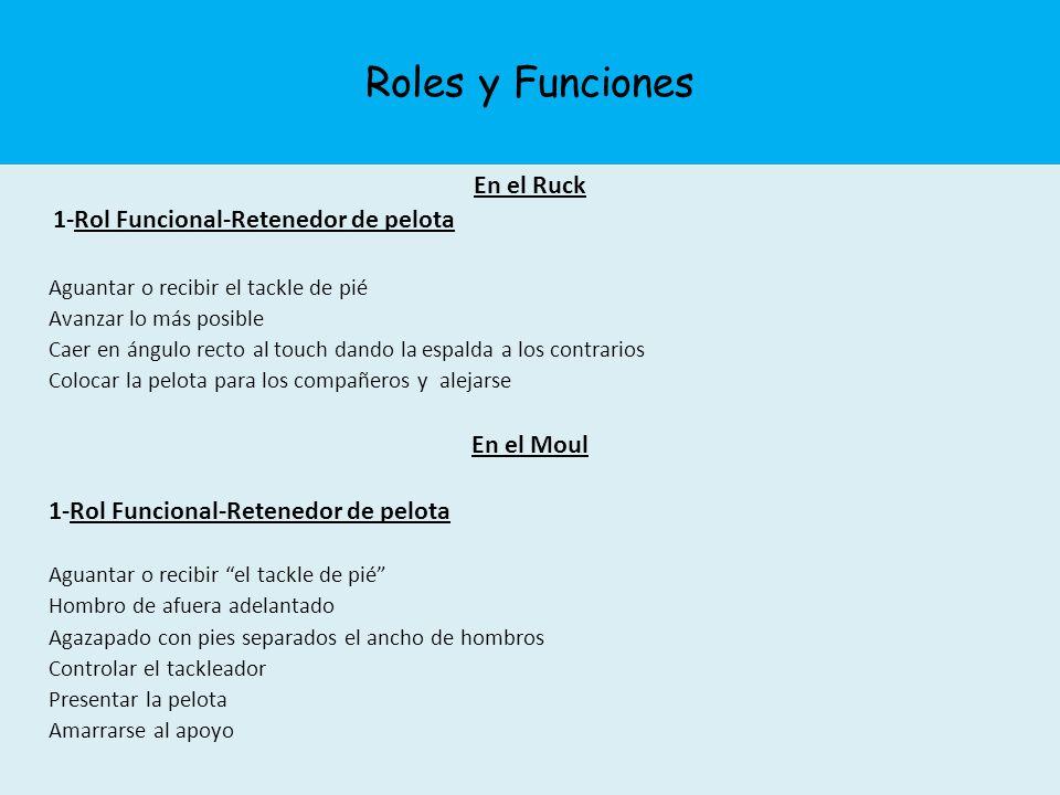 Roles y Funciones En el Ruck 1-Rol Funcional-Retenedor de pelota