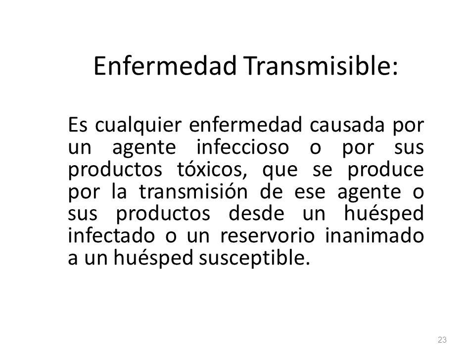 Enfermedad Transmisible: