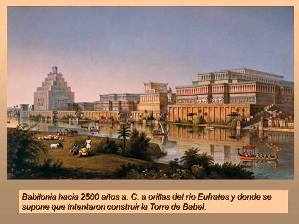 Babilonia hacia 2500 años a. C