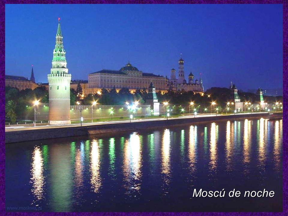 Moscú de noche