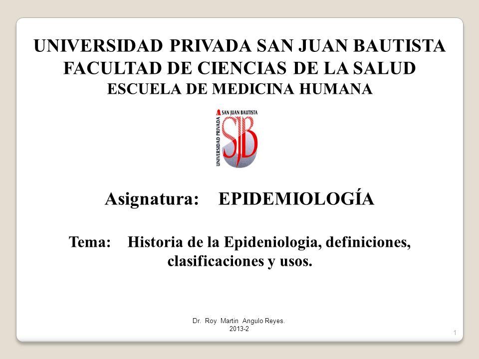 UNIVERSIDAD PRIVADA SAN JUAN BAUTISTA FACULTAD DE CIENCIAS DE LA SALUD