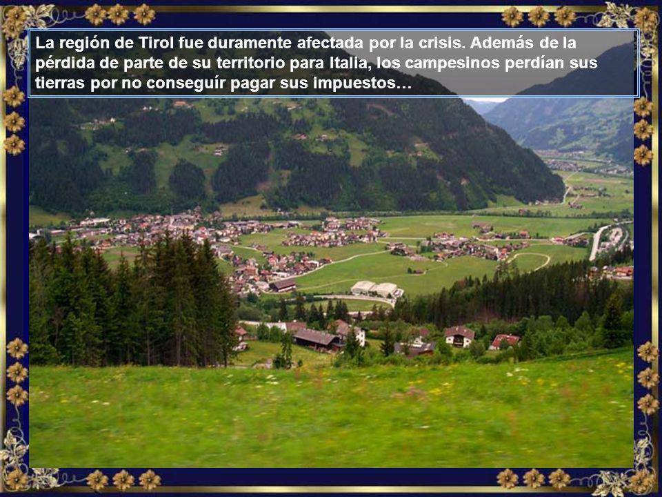 La región de Tirol fue duramente afectada por la crisis