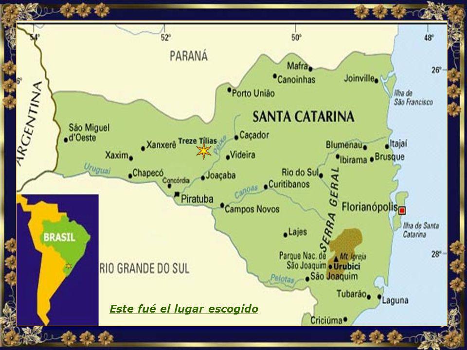 Localização MAPA TREZE TÍLIAS.jpg Este fué el lugar escogido