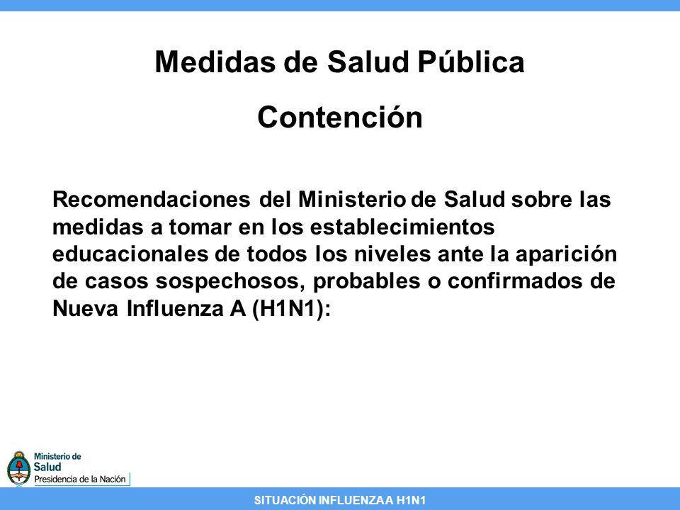 Medidas de Salud Pública