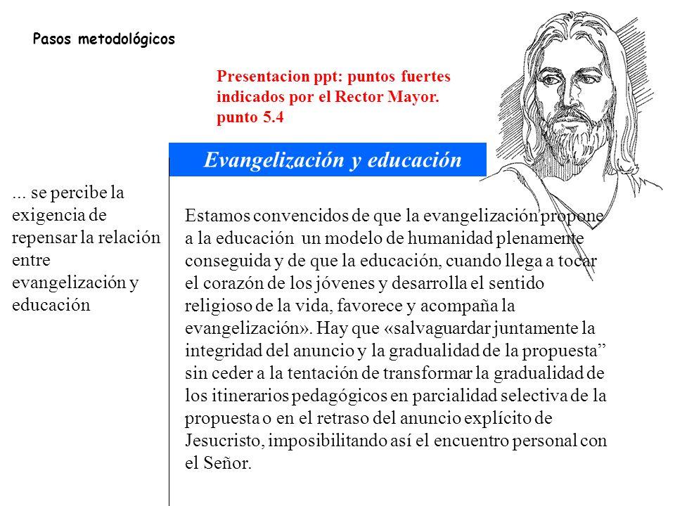 Evangelización y educación
