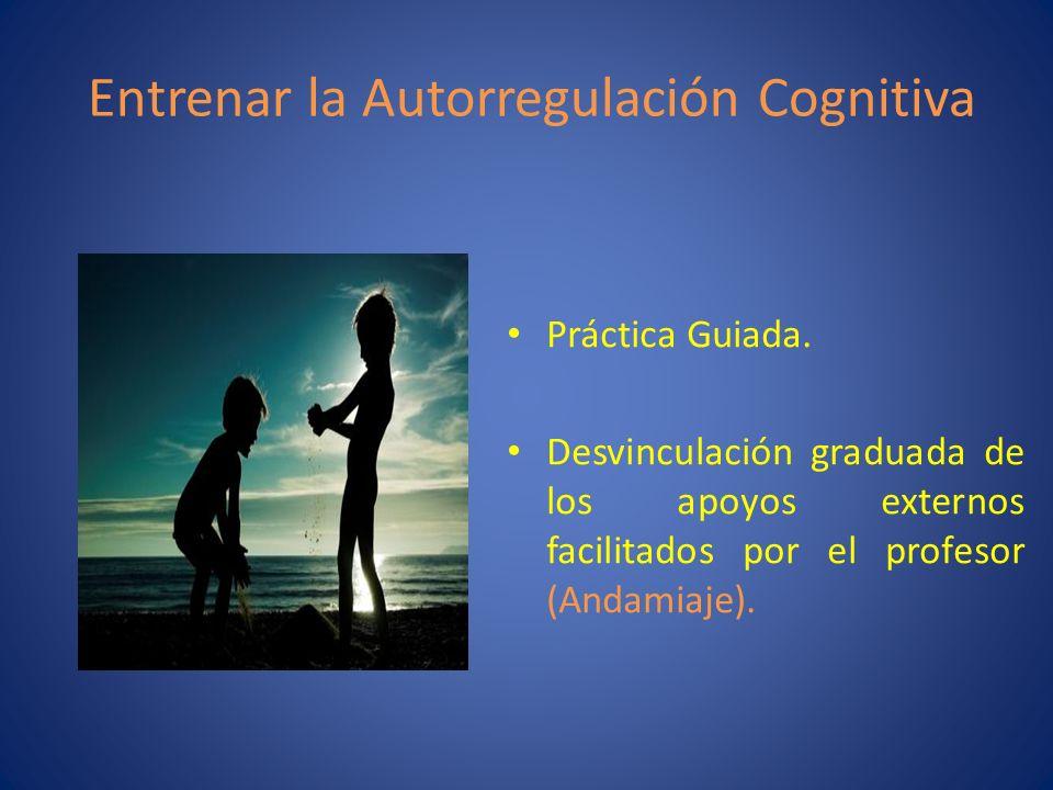 Entrenar la Autorregulación Cognitiva