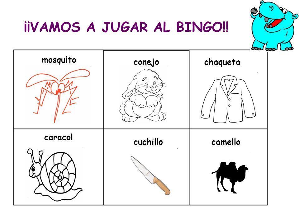 ¡¡VAMOS A JUGAR AL BINGO!!
