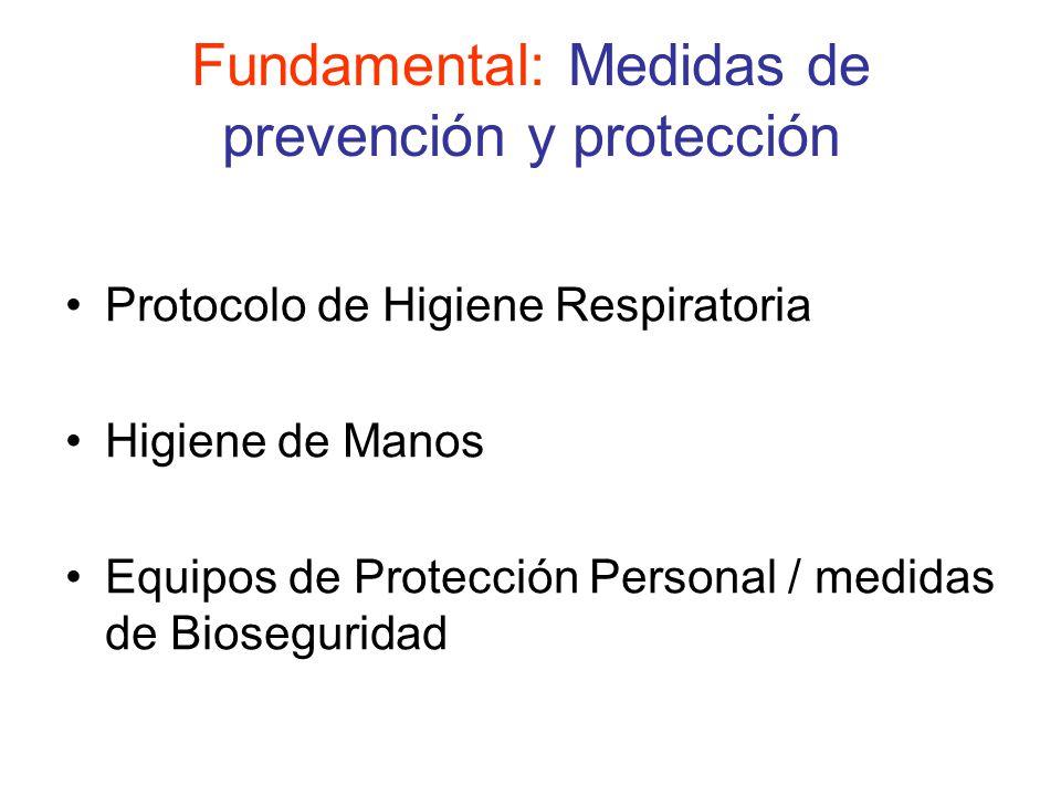 Fundamental: Medidas de prevención y protección