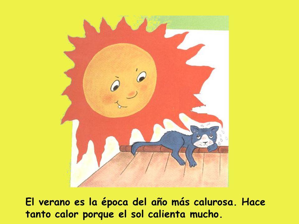 El verano es la época del año más calurosa