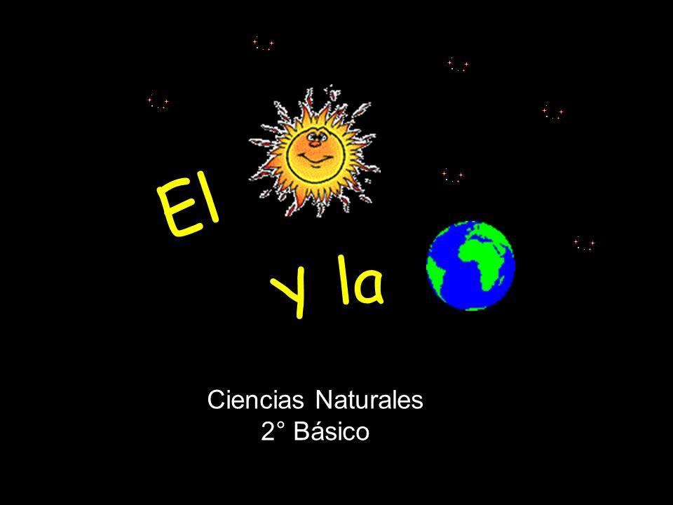 EL SOL Y LA TIERRA El Y la Ciencias Naturales 2° Básico