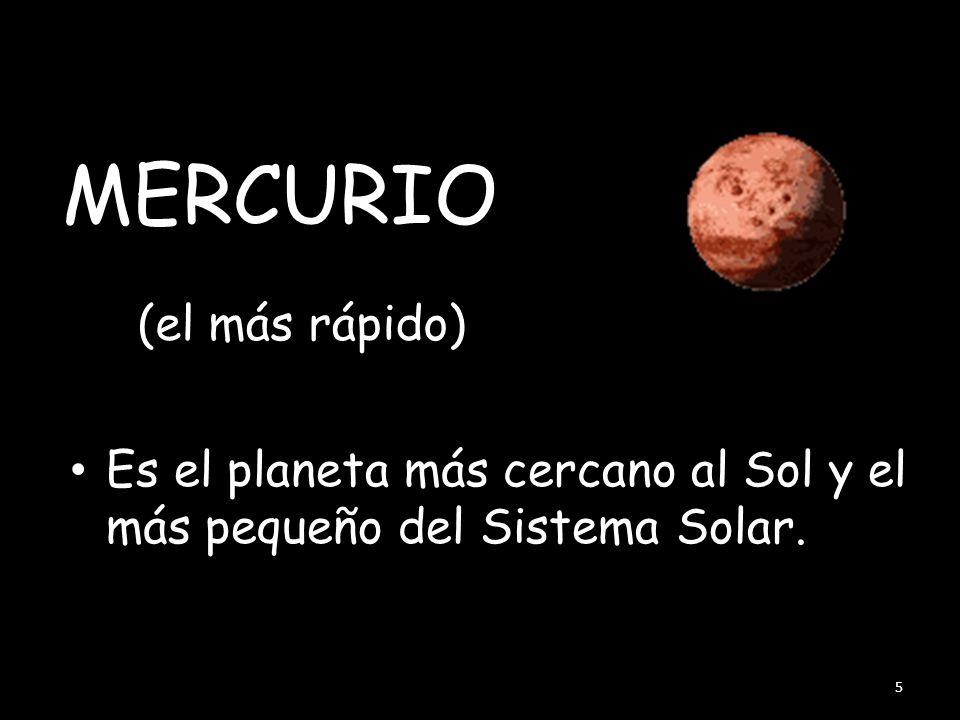 MERCURIO (el más rápido)