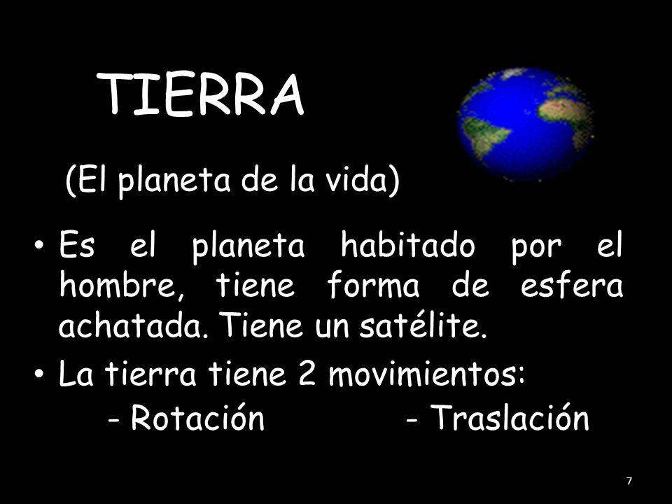 TIERRA (El planeta de la vida)