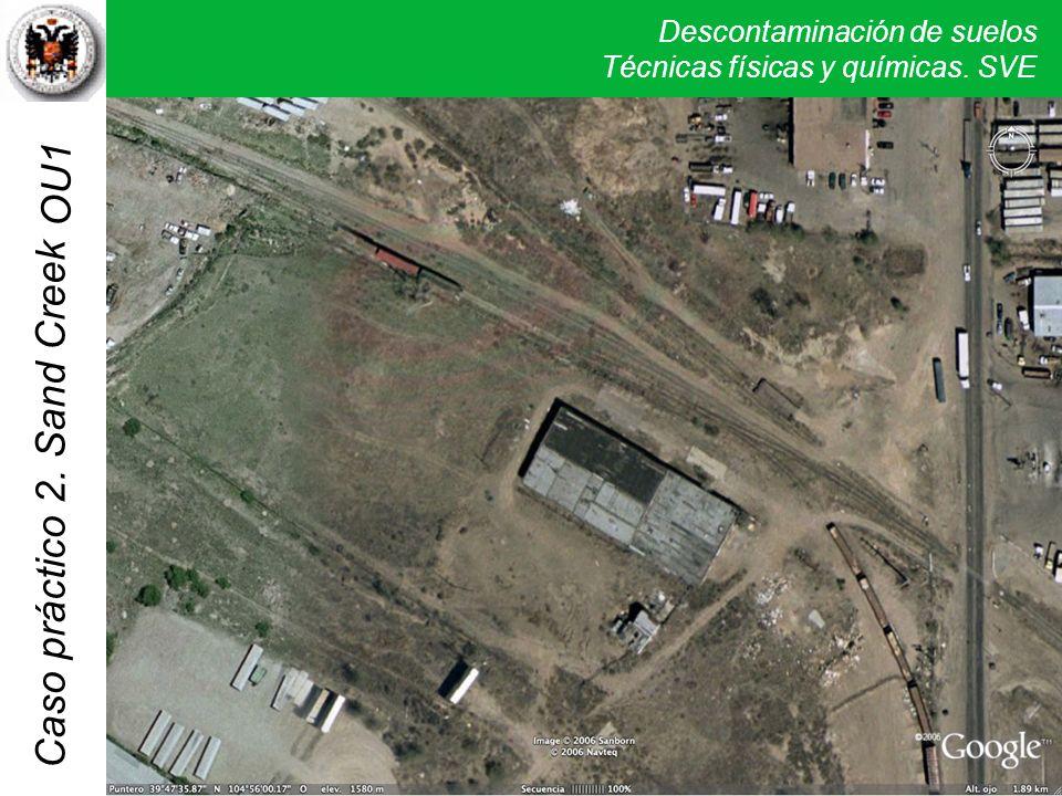 OU1 Las imágenes de satélite a los 12 años de la remediación parecen poner en evidencia la limpieza actual de los suelos de la zona.