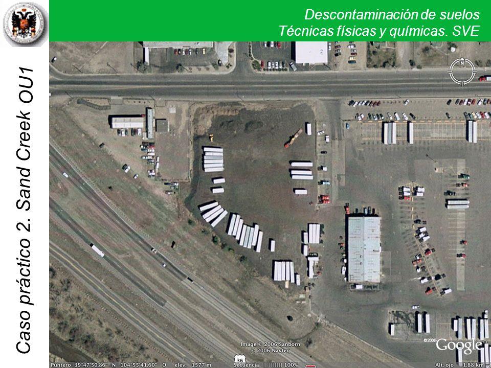OU1 Las imágenes parece indicar que sería necesaria una revisión actual de diversos sitios de la zona.