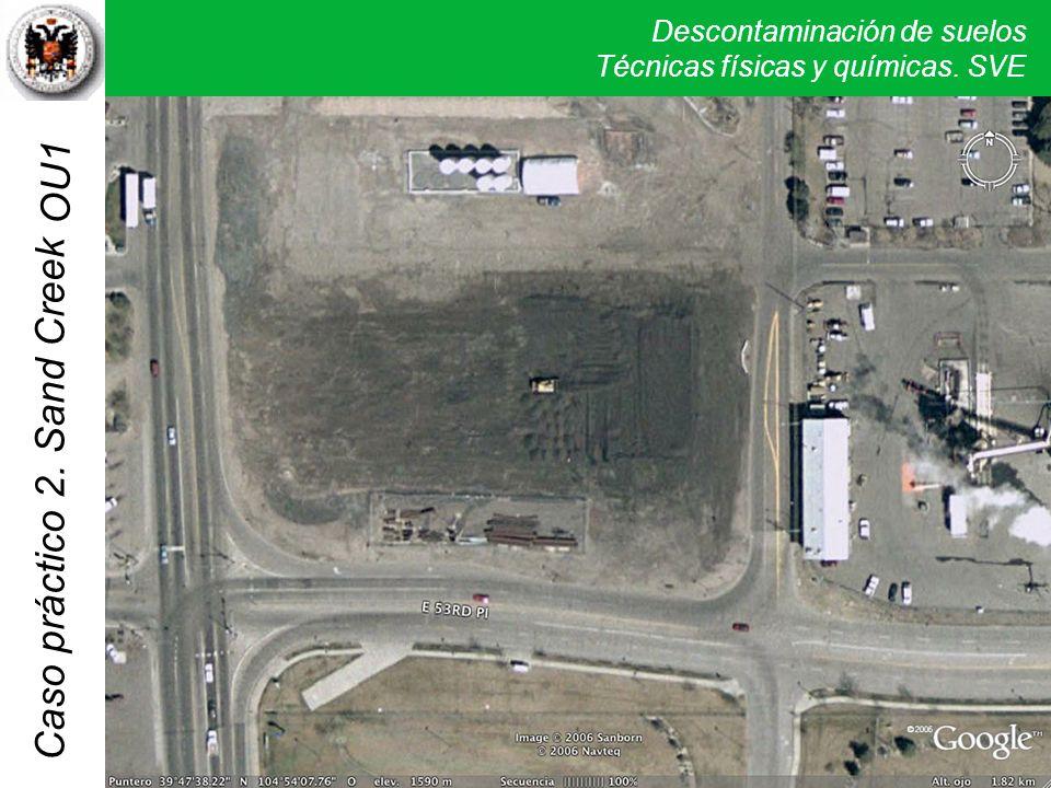 OU1 Por lo menos la superficie de los suelos parece estar contaminada a nivel de foto de satélite.