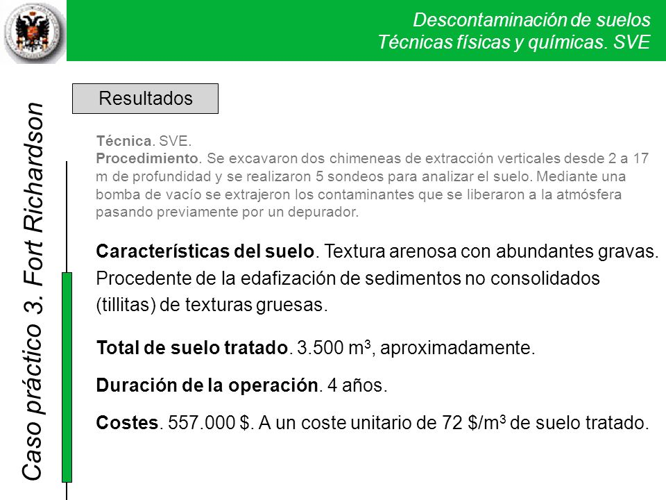 3. Fort Richardson Resultados