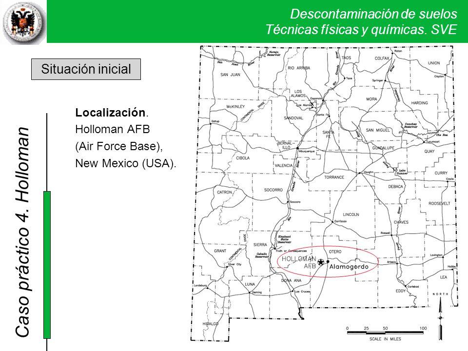 4. Holloman Situación inicial Localización.
