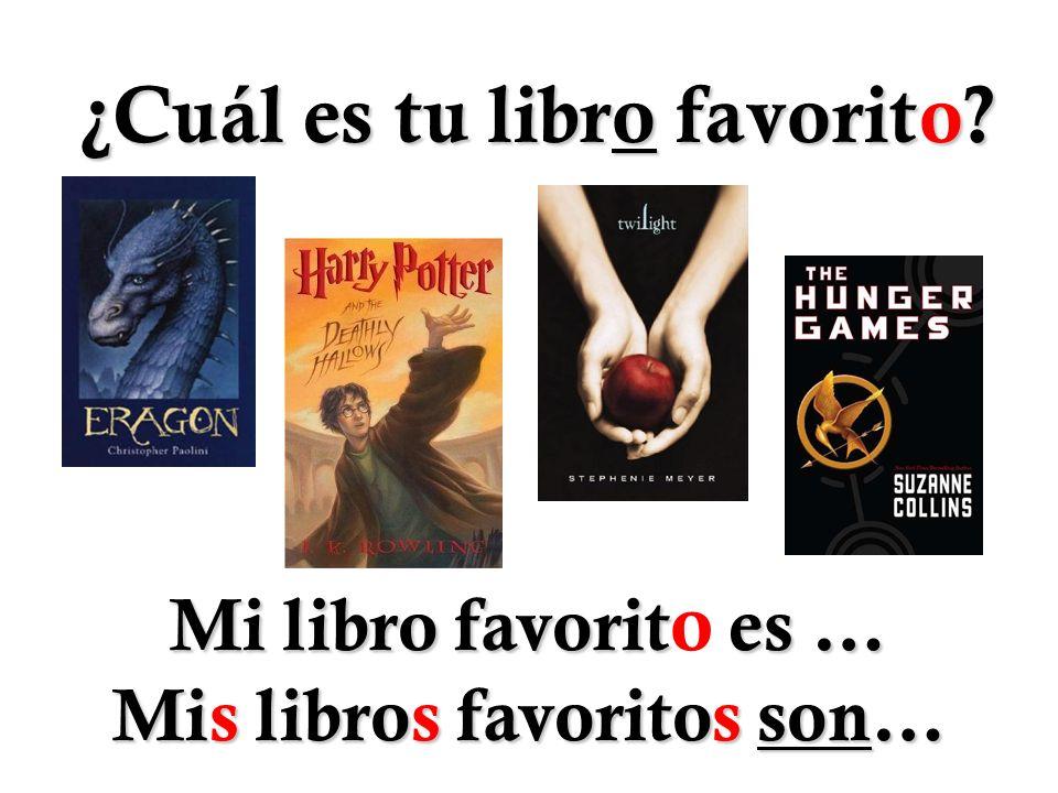 ¿Cuál es tu libro favorito
