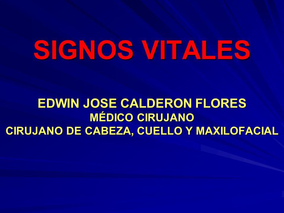 EDWIN JOSE CALDERON FLORES CIRUJANO DE CABEZA, CUELLO Y MAXILOFACIAL