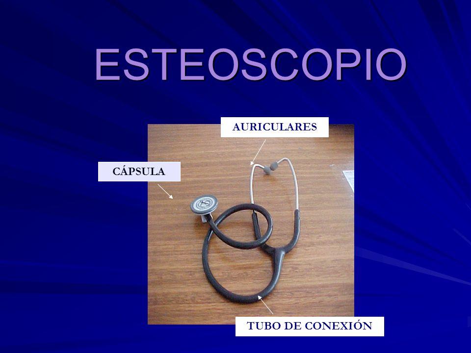 ESTEOSCOPIO AURICULARES CÁPSULA TUBO DE CONEXIÓN