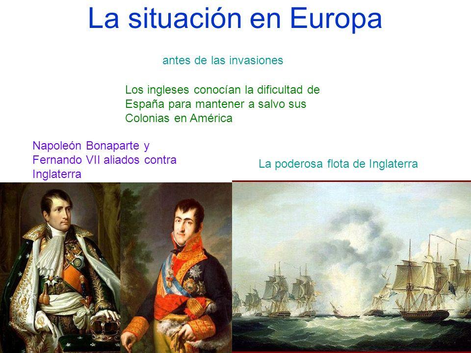 La situación en Europa antes de las invasiones
