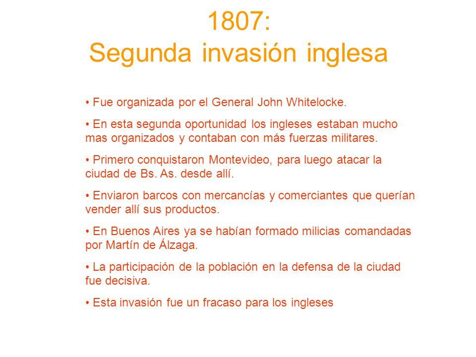 1807: Segunda invasión inglesa