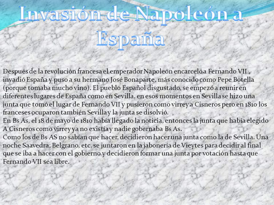 Invasión de Napoleón a España