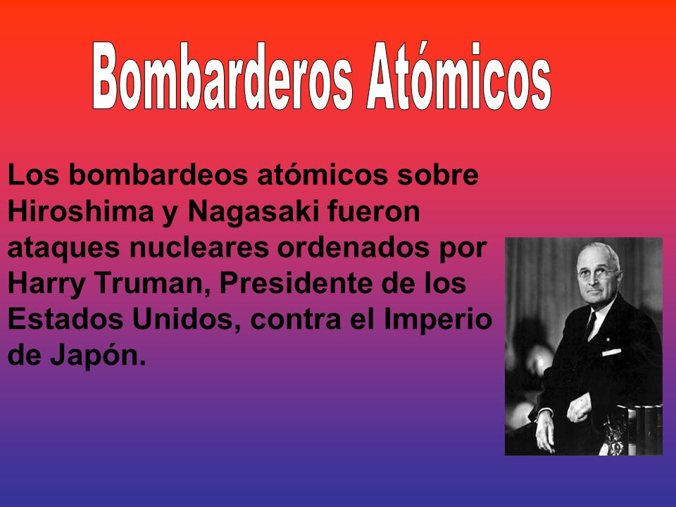 Bombarderos Atómicos