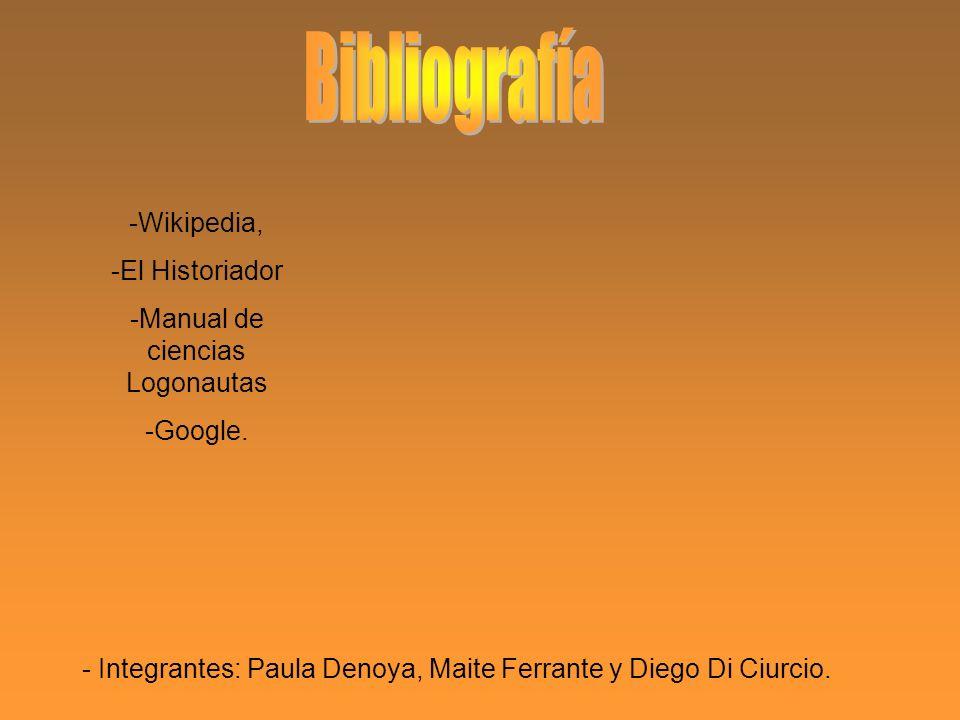 Bibliografía -Wikipedia, -El Historiador