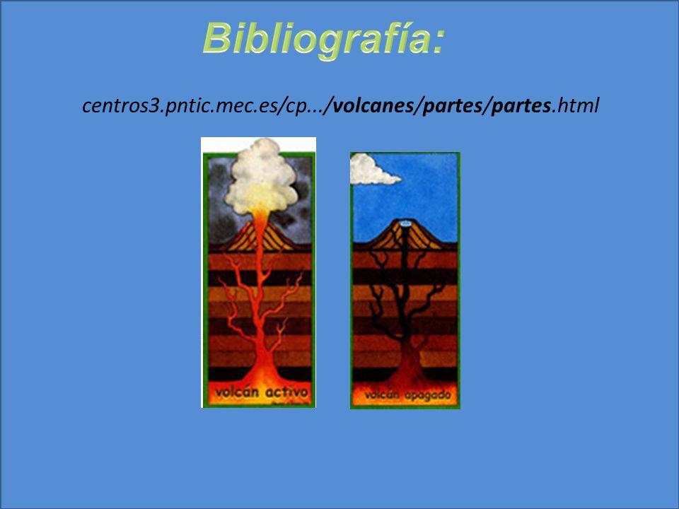 Bibliografía: centros3.pntic.mec.es/cp.../volcanes/partes/partes.html