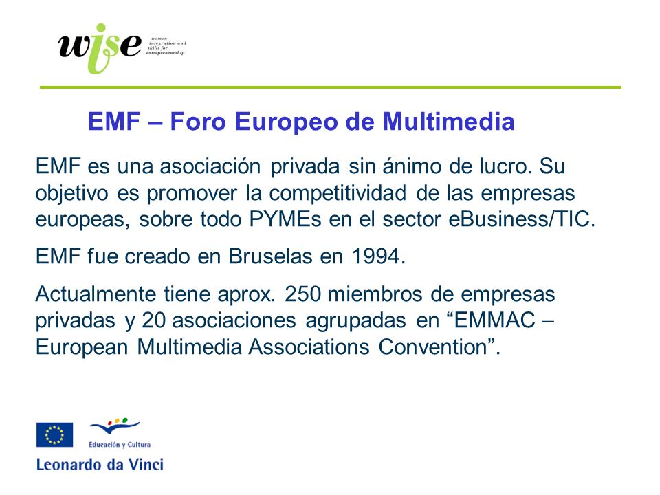 EMF – Foro Europeo de Multimedia