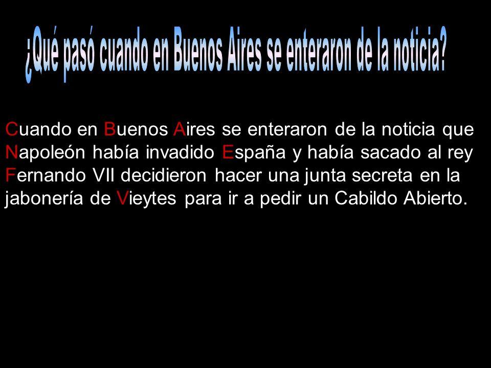 ¿Qué pasó cuando en Buenos Aires se enteraron de la noticia