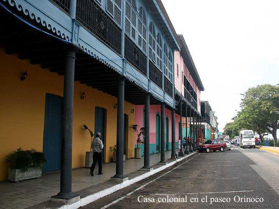 Casa colonial en el paseo Orinoco