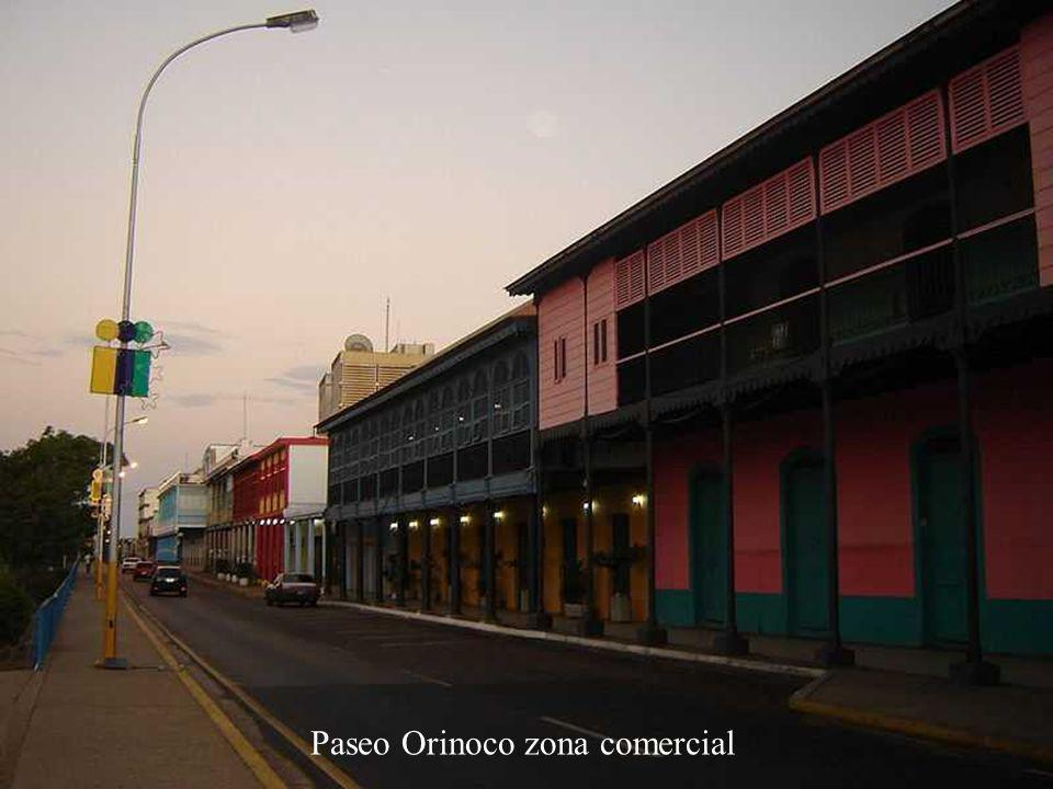 Paseo Orinoco zona comercial