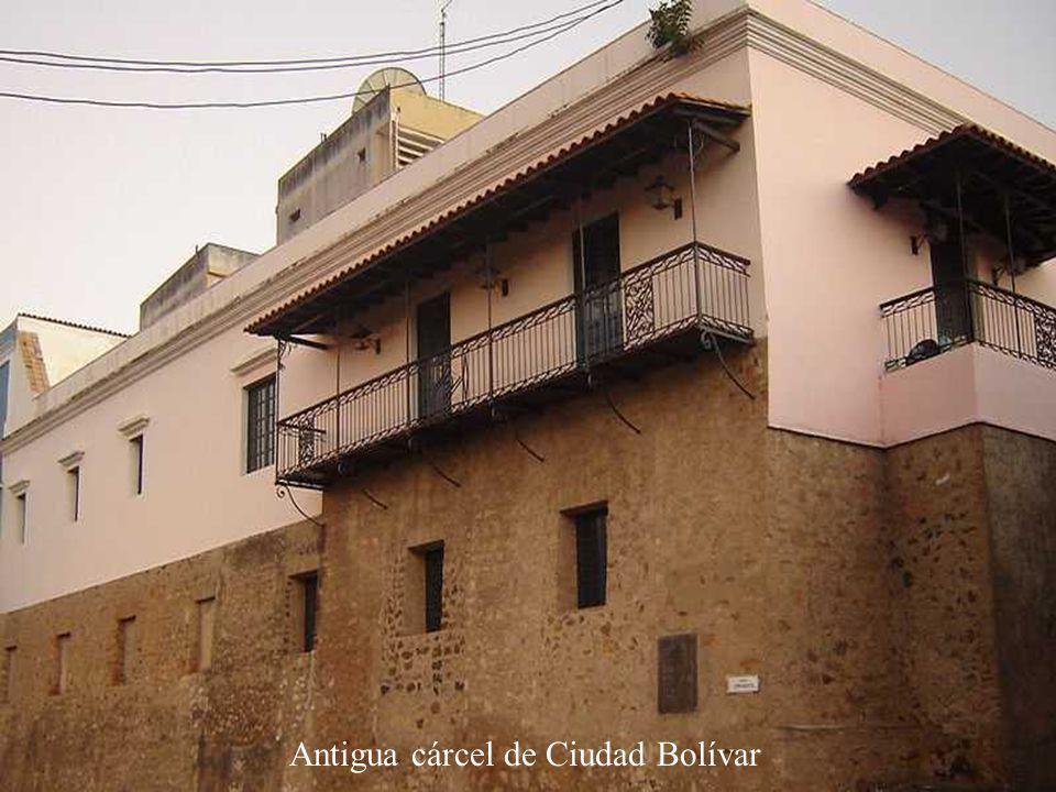 Antigua cárcel de Ciudad Bolívar