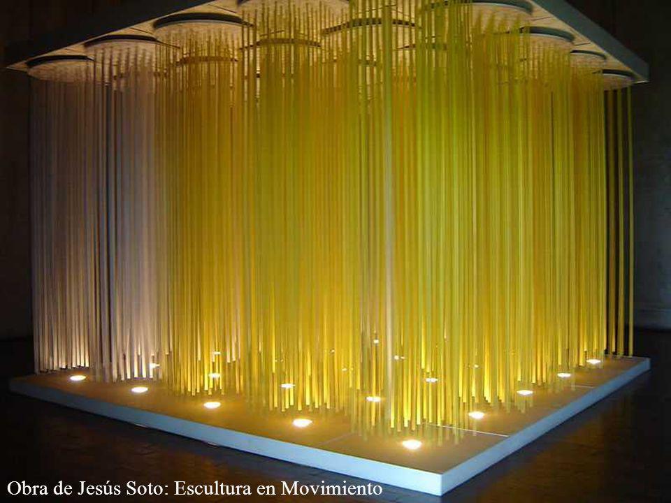 Obra de Jesús Soto: Escultura en Movimiento
